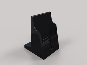 Iphone Dock Standard in Black Natural Versatile Plastic