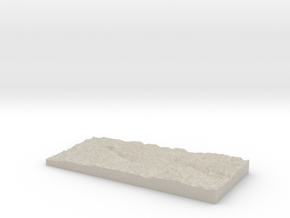 Model of Morrison Creek in Sandstone