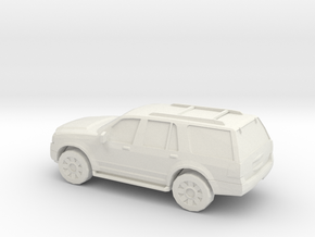 1/87 2009 Ford Expedition in White Natural Versatile Plastic