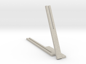 """Photo Slide Stand for 4""""x6"""" Images in Natural Sandstone"""