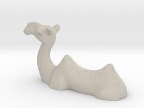 Camel Chopstick Stand in Natural Sandstone