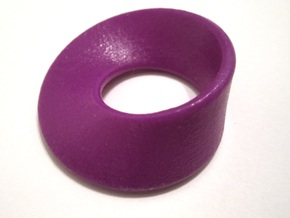 Moebius Band in Purple Strong & Flexible Polished
