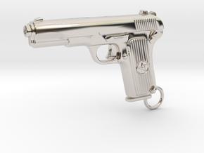 Tokarev Gun in Platinum