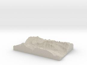Model of Quinten in Natural Sandstone