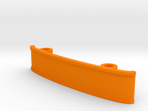 ZMR250 Bumper V1 in Orange Processed Versatile Plastic