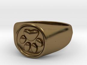 Signet1.1 in Polished Bronze