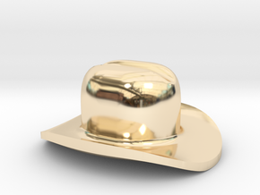 Assem1 - Cowboy Hat-1 in 14K Yellow Gold