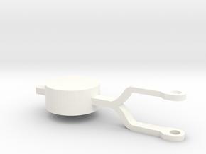 ZE/GTW wisselsteller kloot in White Processed Versatile Plastic