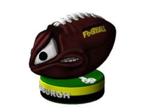 AngryFootballColor in Full Color Sandstone