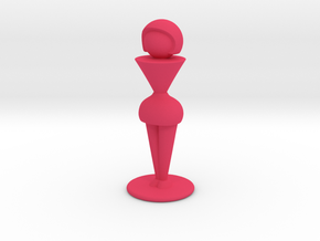 Trophy Wife in Pink Processed Versatile Plastic