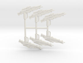 Valkyrie Sniper Rifle Pack in White Natural Versatile Plastic