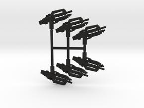 Heavy Carbine Pack in Black Natural Versatile Plastic