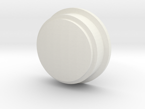 Pokeball Lens in White Natural Versatile Plastic