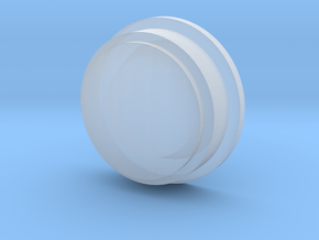 Pokeball Lens in Smooth Fine Detail Plastic
