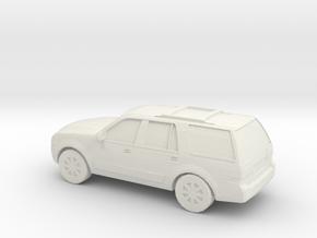 1/87 2007 Lincoln Navigator in White Natural Versatile Plastic