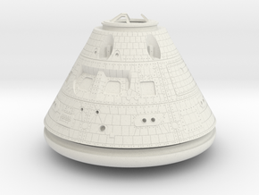 Orion Crew Module 1:48 in White Strong & Flexible