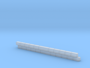 Wall section in Smooth Fine Detail Plastic