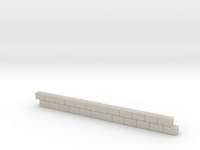 Wall section in Natural Sandstone