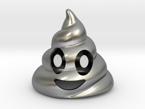 Poop Bottle Opener  in Natural Silver