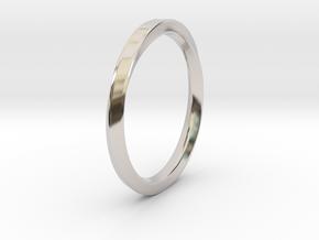 Möbius Ring in Platinum: 11 / 64
