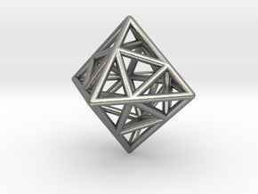 Icosa-Octahedron in Natural Silver
