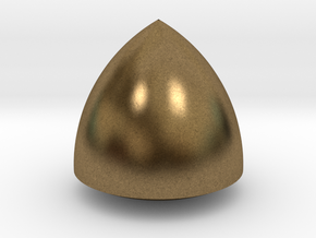 Revolved Reuleaux Triangle in Natural Bronze