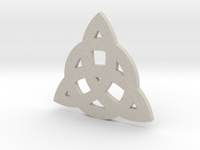 Triquetra (CelticTinity) in Natural Sandstone