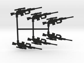 Intervention Sniper Rifle Pack in Black Natural Versatile Plastic