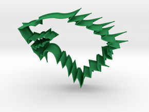 House of Stark - Cookie Cutter in Green Processed Versatile Plastic