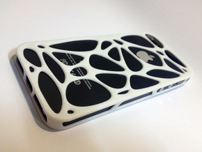 iPhone 5 case - Cell in White Strong & Flexible