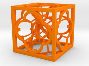 Hyper Menger K5 100mm in Orange Processed Versatile Plastic