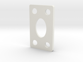 7.5 DEGREE WEDGE in White Natural Versatile Plastic