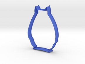 XL Totoro - Cookie Cutter in Blue Processed Versatile Plastic