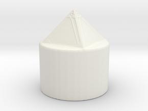 Holocron Blade Plug in White Natural Versatile Plastic