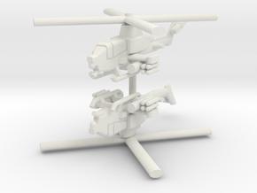 1/285 AH-1Z Viper (x2) in White Natural Versatile Plastic
