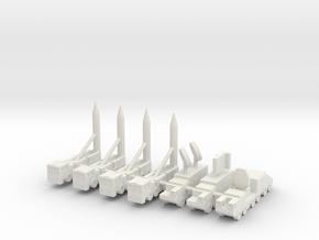 1/285 DF-21C MRBM in White Natural Versatile Plastic