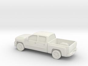 1/87 2012 Z71 Silverado Ltz  in White Natural Versatile Plastic