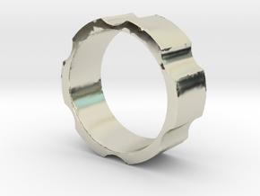 RAS - revolveHER - Mens Ring in 14k White Gold