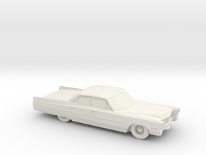 1/87 1967 Cadillac Sedan DeVille in White Natural Versatile Plastic