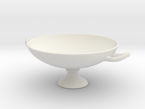 KylixA-20cm in White Natural Versatile Plastic