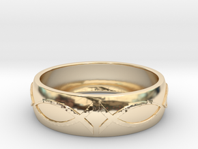 Size 6 Ring  in 14K Yellow Gold