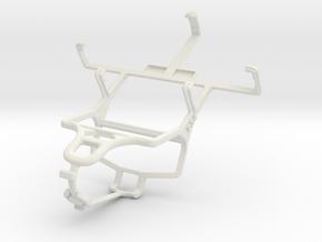 Controller mount for PS4 & ZTE Score M in White Natural Versatile Plastic