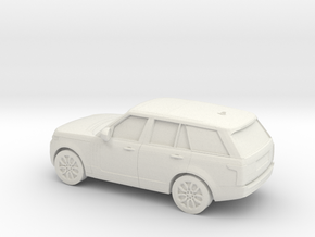 1/87 2013  Range Rover L405 Vogue  in White Natural Versatile Plastic