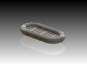 10ft x 5ft Carley float 1/72 in Smooth Fine Detail Plastic