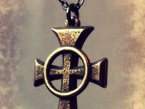 "Boondock Saints - Celtic Cross pendant - 1"" in Stainless Steel"