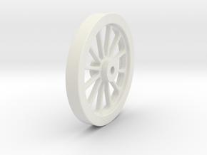 FLYWHEEL in White Natural Versatile Plastic