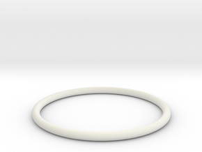 Bracelet X Large in White Natural Versatile Plastic