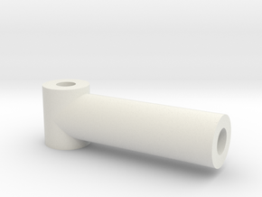 CALF CYLINDER-PROSTHETIC LEG in White Natural Versatile Plastic