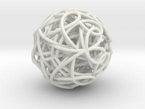 ScribbleBall in White Strong & Flexible