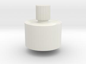 Top in White Natural Versatile Plastic